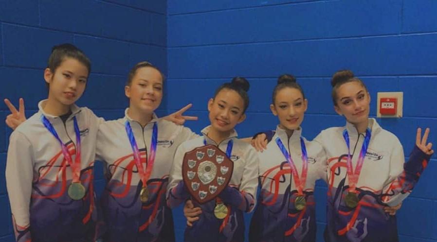 National British Rhythmic Gymnastics Competition